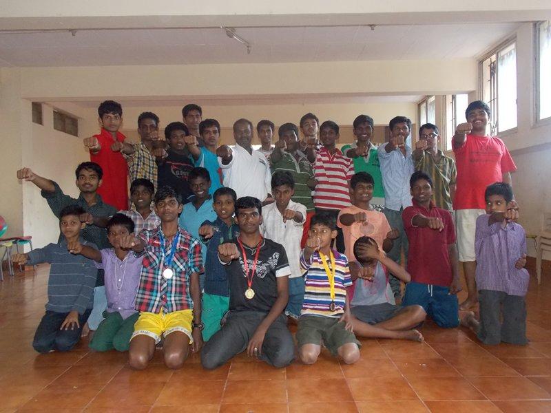 m_karate class at Sparsha